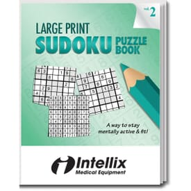 Large Print Sudoku Puzzle Book- Volume 2