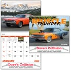 ON SALE-Muscle Thunder Calendar - Spiral