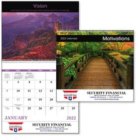 ON SALE-Motivations Calendar – Spiral