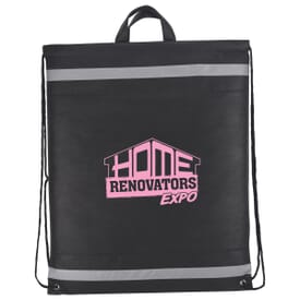 Horizon Reflective Drawstring Backpack