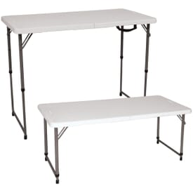 Adjustable 4' Event Table