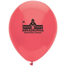 "9"" AdRite™ Balloons- Basic Colors"