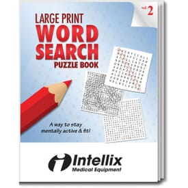 Large Print Word Search Puzzle Book- Volume 2